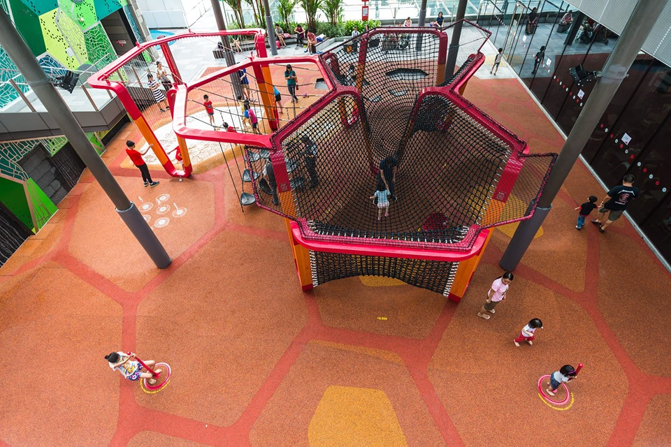 free playgrounds in mall - jem rooftop playground