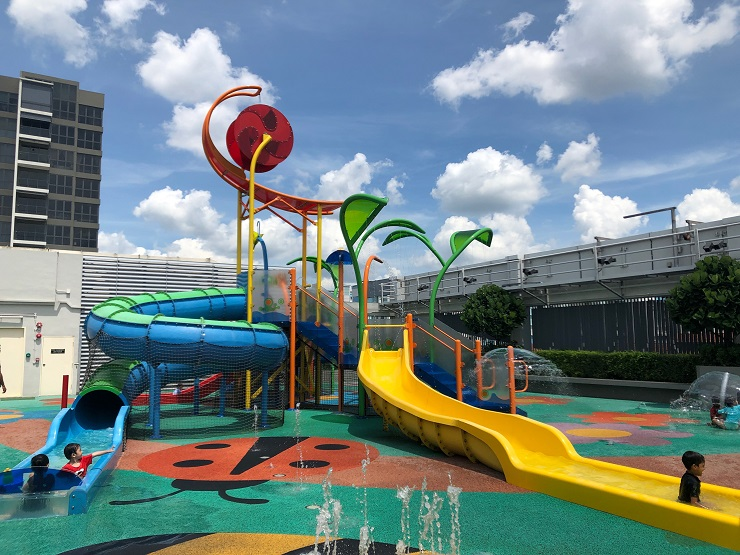 free playgrounds in mall - northpoint city water playground