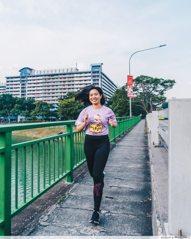 Hello Kitty Run 2019 - hello kitty moon walk t-shirt