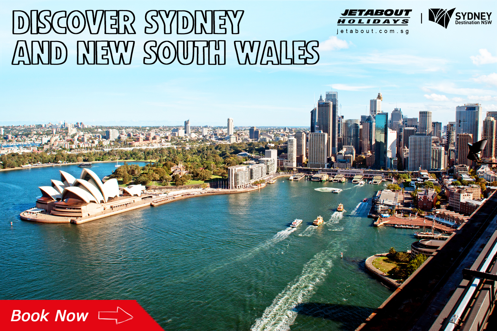 jetabout holidays sydney new south wales tour