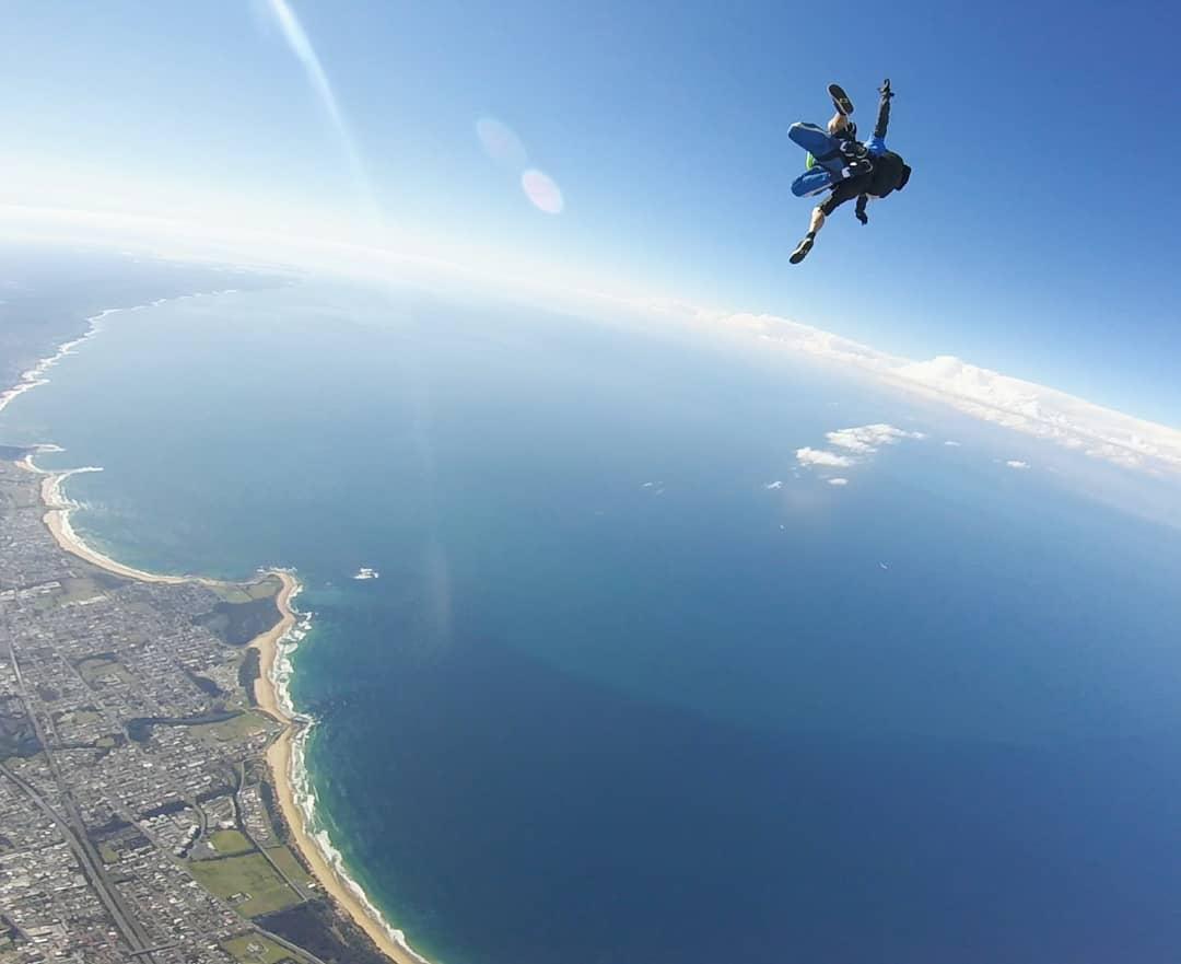 skydive australia view