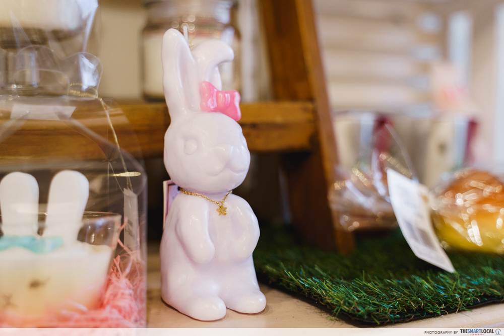 lolotte candle bunny