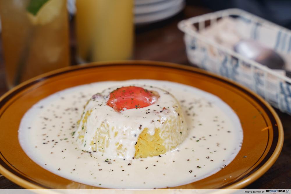 carbonara rice