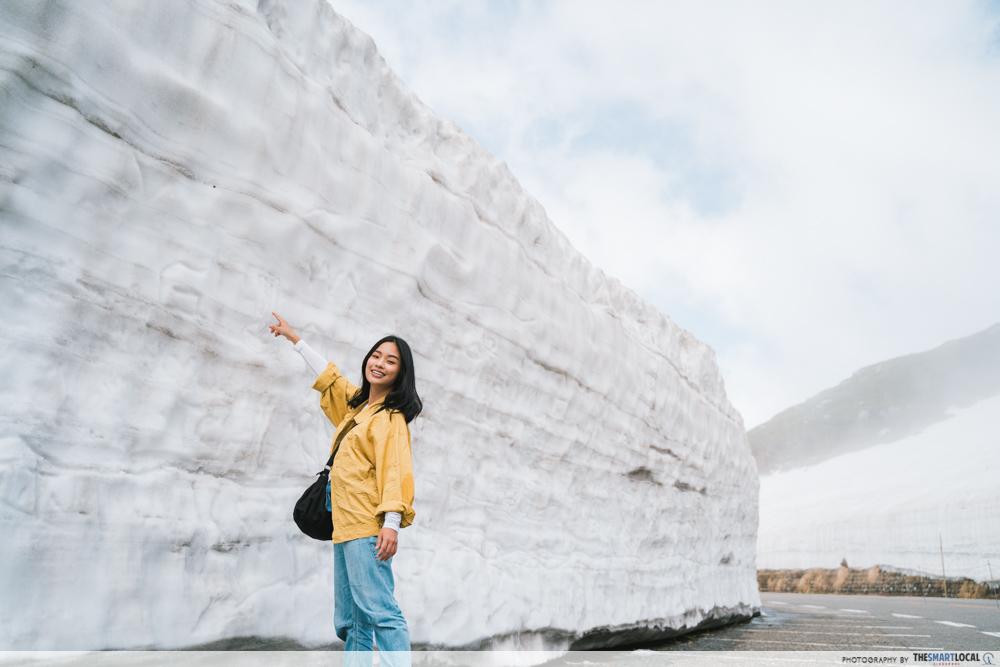 murodo snow wall