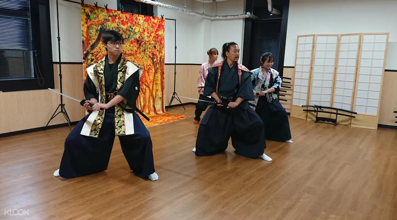 samurai lesson osaka