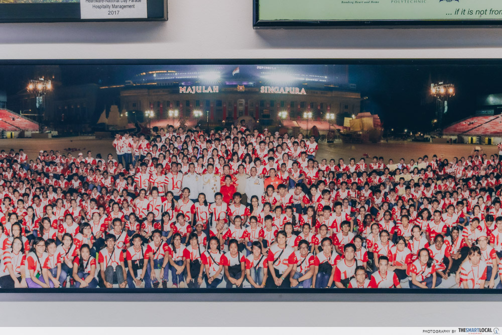heartware network volunteer - photo frame of NDP event