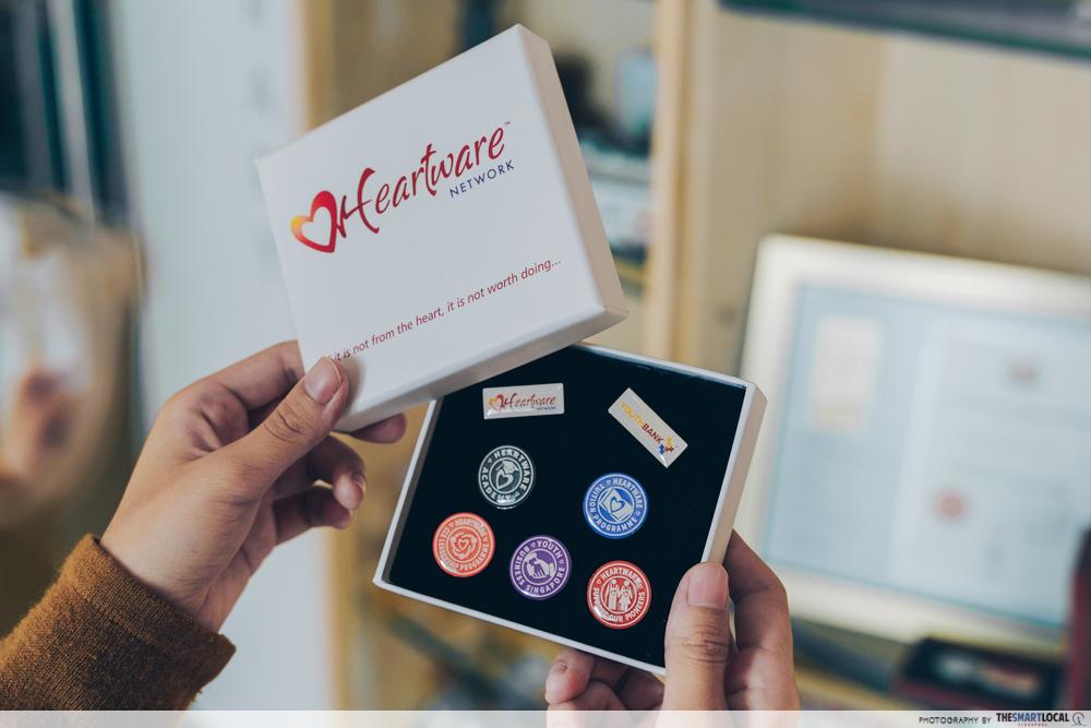 heartware network volunteer - heartware network badges