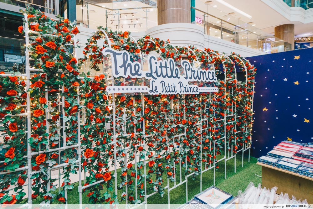 Junction 8's The Little Prince-Inspired Event Has A Lovely Rose Garden, Sunset Room & Exclusive Merch rose tunnel