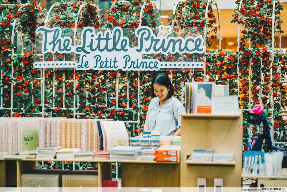 Junction 8's The Little Prince-Inspired Event Has A Lovely Rose Garden, Sunset Room & Exclusive Merch merch shop