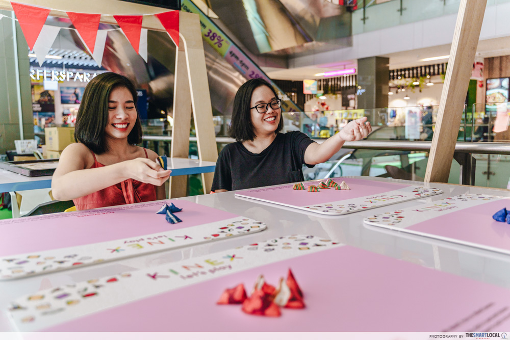 KINEX Mall Is Going Local With Ang Ku Kueh Workshops & A Dragon Playground Bouncy Castle five stones