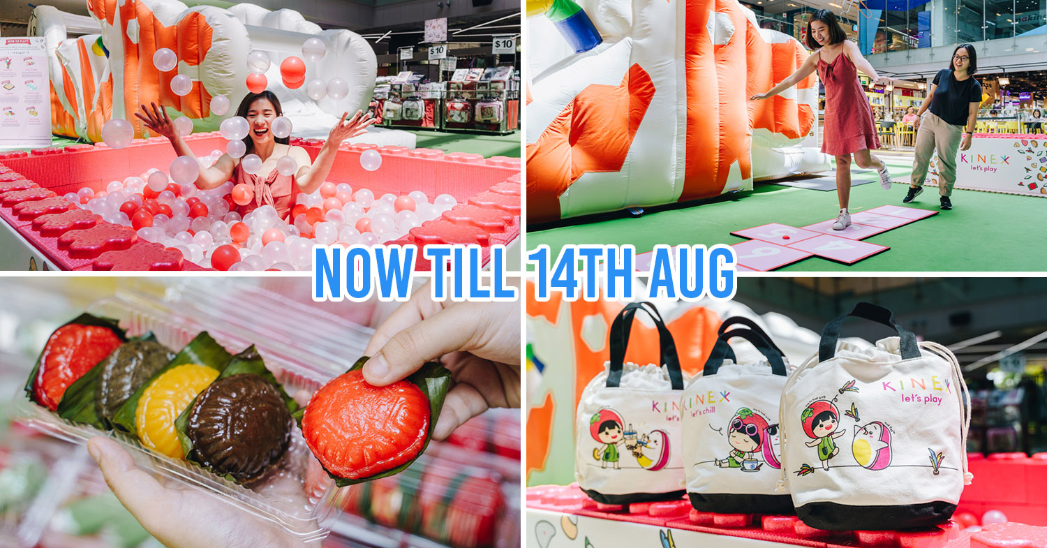KINEX Mall Is Going Local With Ang Ku Kueh Workshops & A Dragon Playground Bouncy Castle