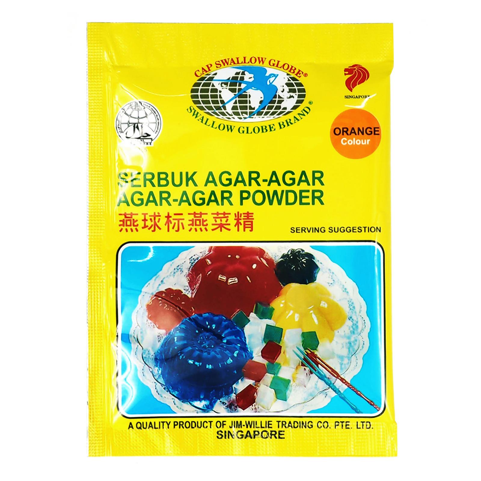 malay words - agar-agar powder