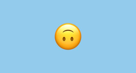 malay words - upside down emoji