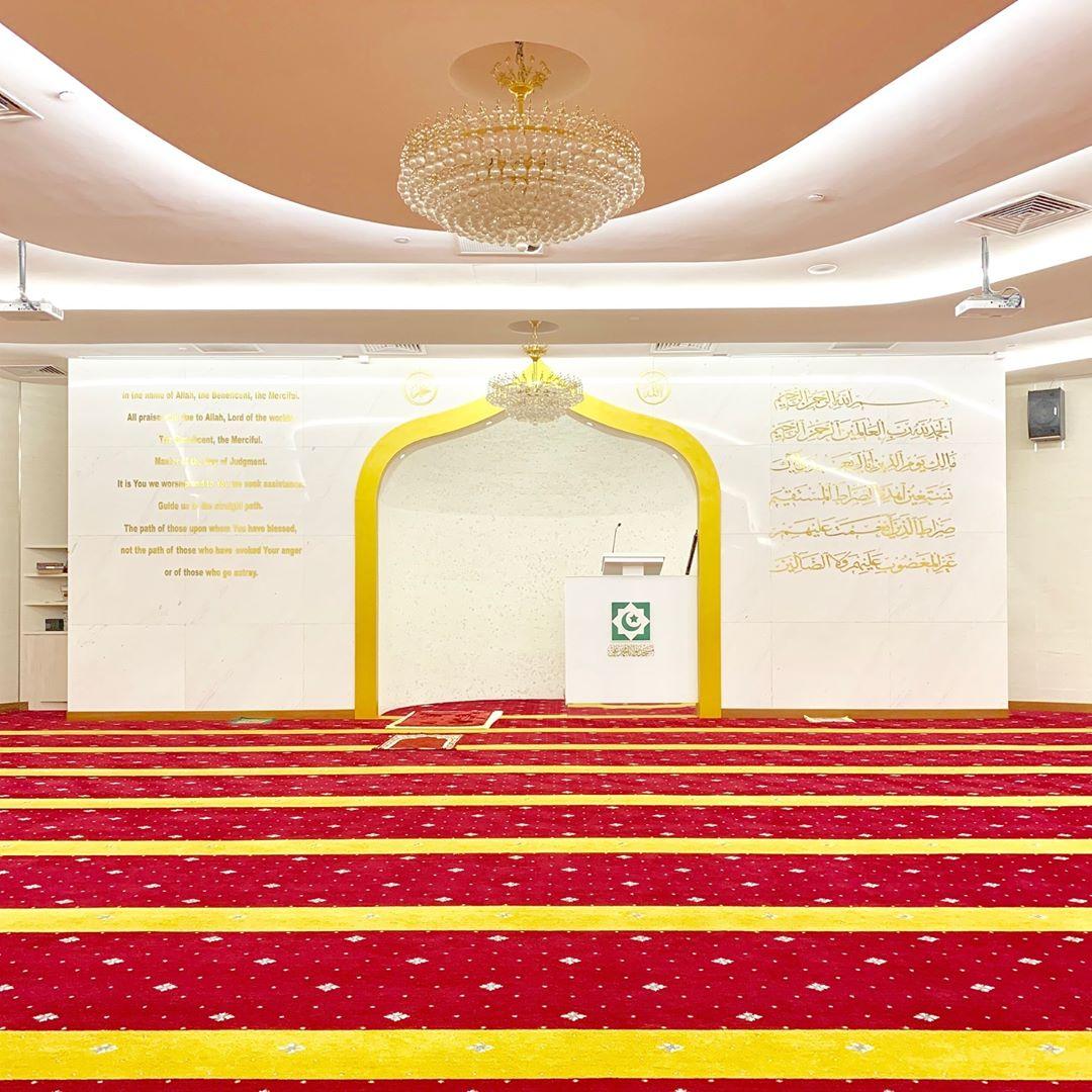 Musollahs in Town - Masjid Moulana Mohammad Ali
