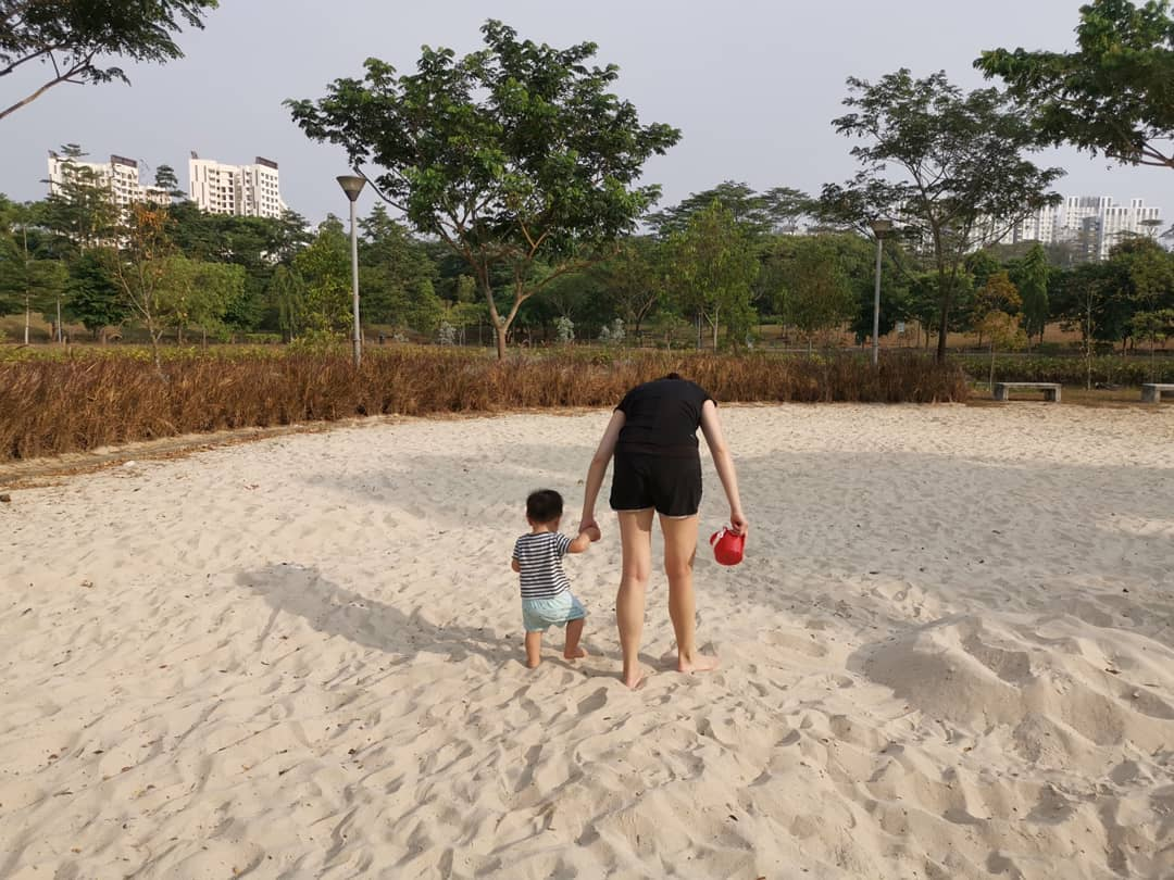 nature reserves and parks - sand play at punggol waterway park