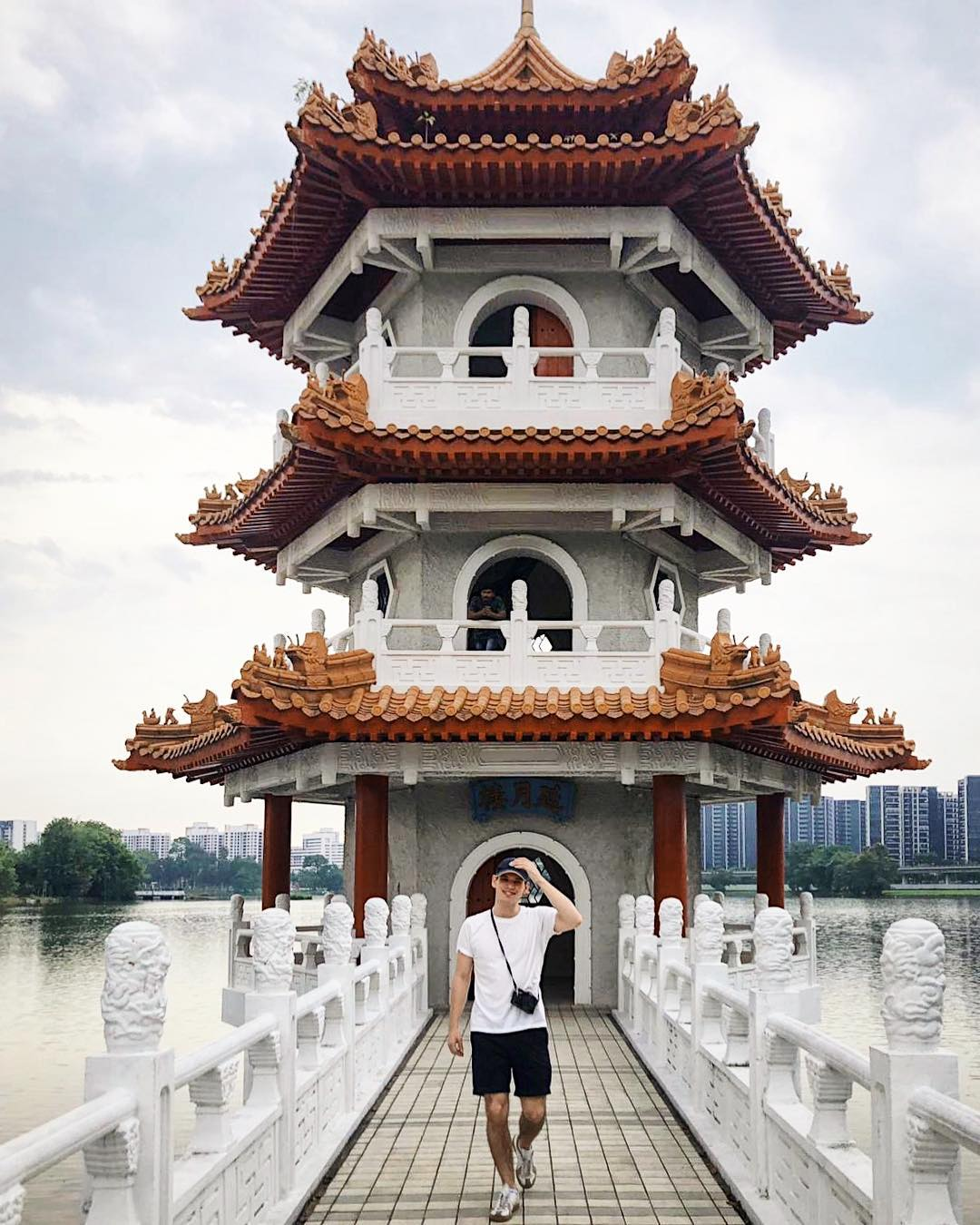 nature reserves and parks - chinese garden pagoda