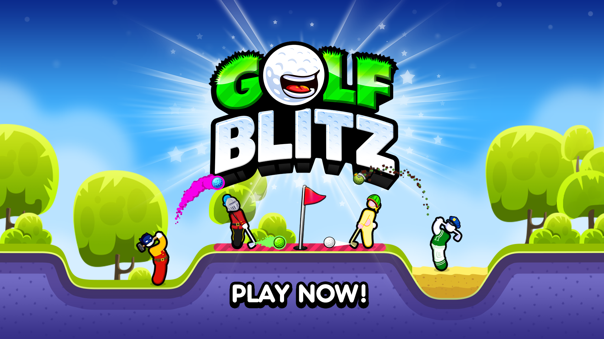 New Mobile Games - Golf Blitz