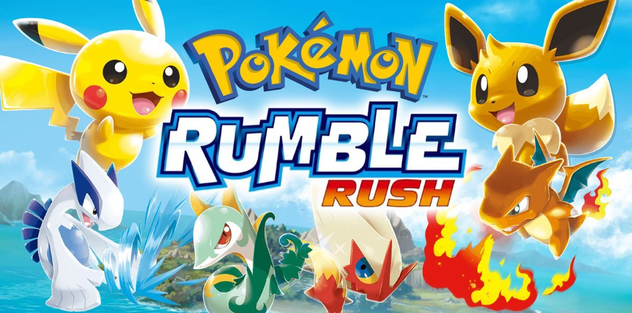 New Mobile Games - Pokemon Rumble Rush