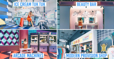 NomadX Has New Themed Pop-Ups Like Arcade Machines & A Beauty Bar That Let You Buy Exclusive Online Brands