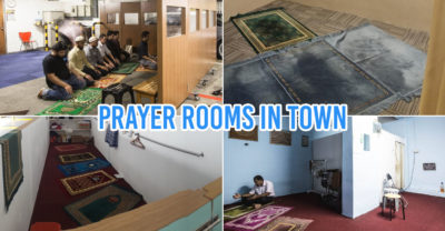 Prayer rooms in town Singapore
