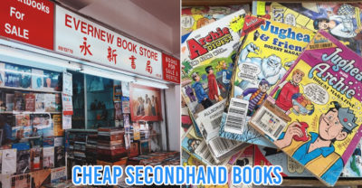 Secondhand Bookstores - collage