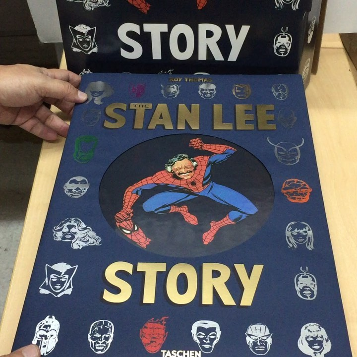Secondhand Bookstores - Basheer Graqphic Books Stan Lee Story