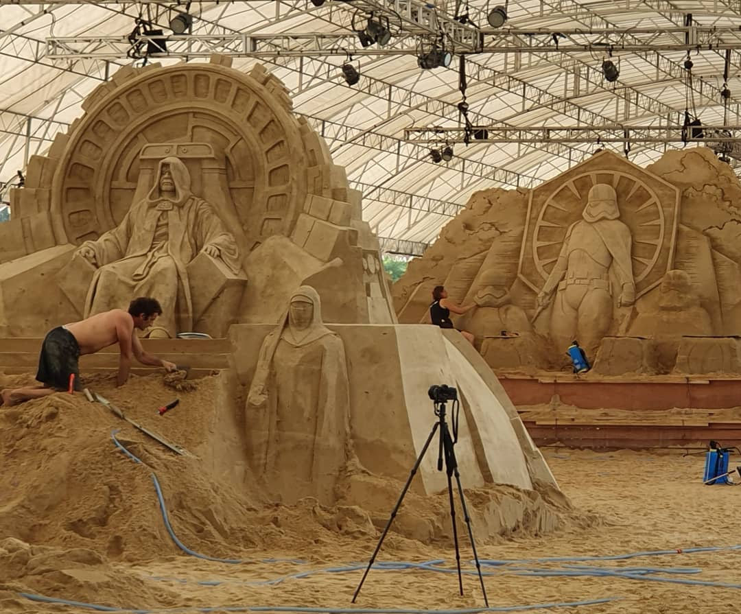 things to do in september - sentosa sandsation star wars edition