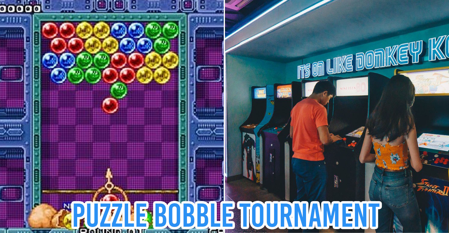 things to do in september - collage of puzzle bobble tournament