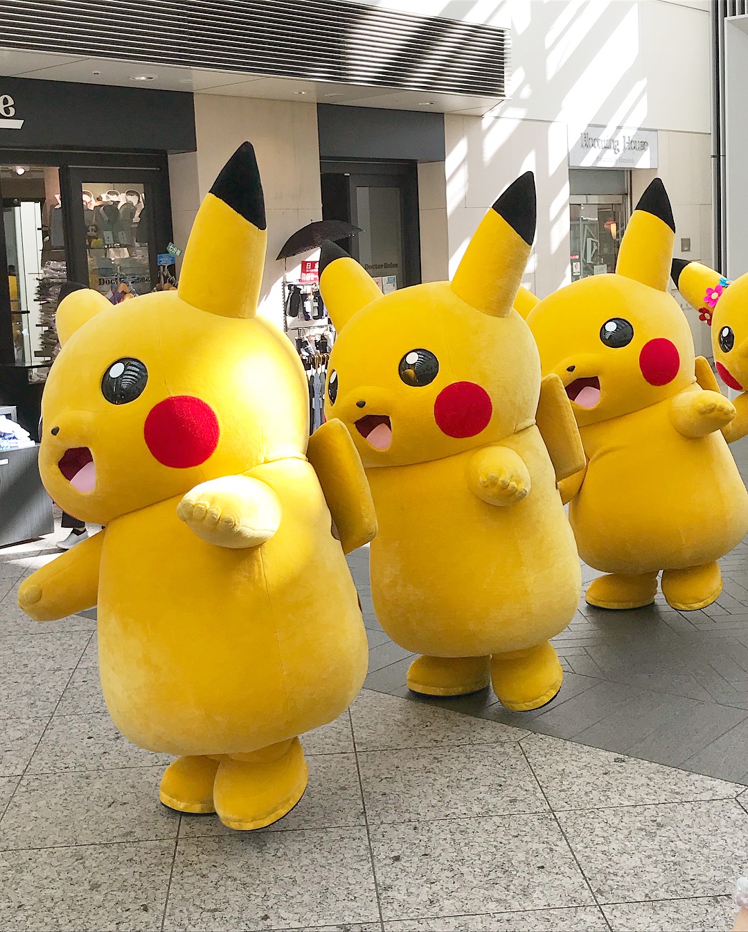 things to do in september - pikachu parade at japan summer festival