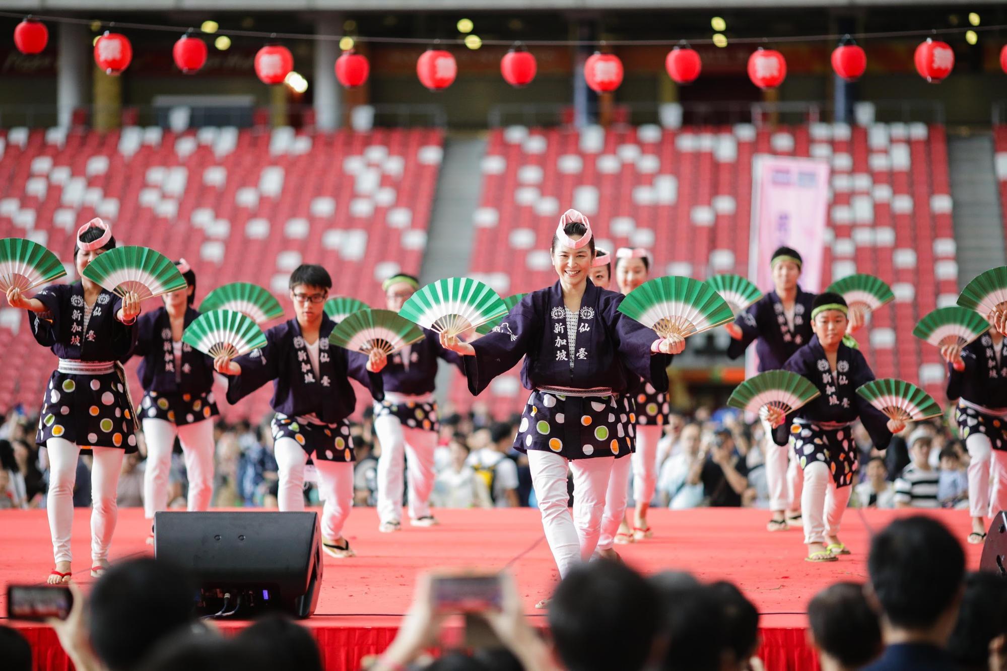 things to do in september - bon odori at japan summer festival