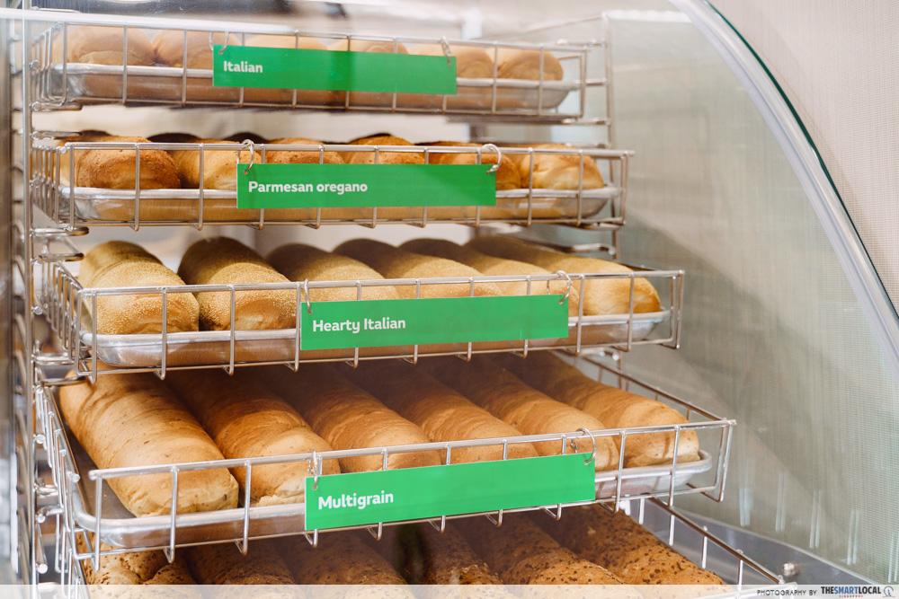 subway homestyle bbq bread