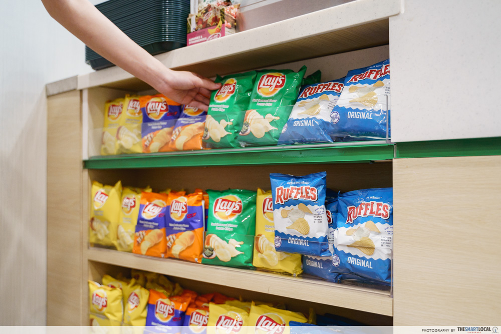 subway homestyle bbq lays chips snacks