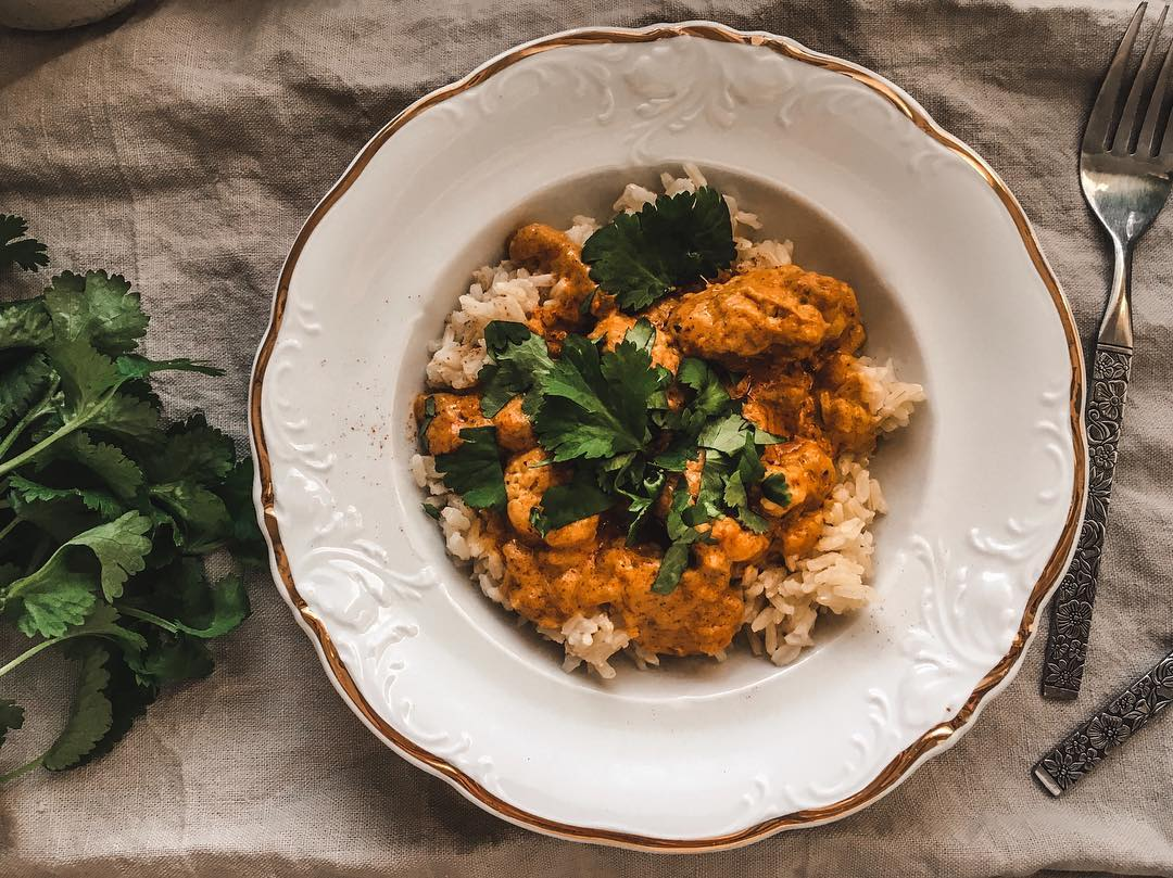 10 Vegetarian Food Delivery Options In Singapore For Meatless Meals Sent Straight To Your Door butter chicken