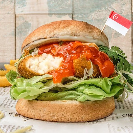 10 Vegetarian Food Delivery Options In Singapore For Meatless Meals Sent Straight To Your Door chili crab burger