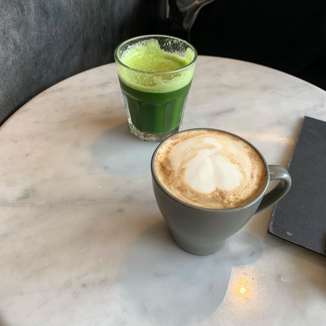 10 Vegetarian Food Delivery Options In Singapore For Meatless Meals Sent Straight To Your Door matcha latte cappuccino