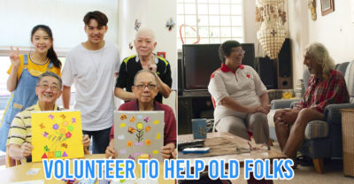 volunteer with elderly - collage of HCA Hospice Care and Red Cross