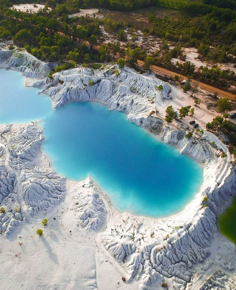 Things to do in Belitung Blue Kaolin Lake
