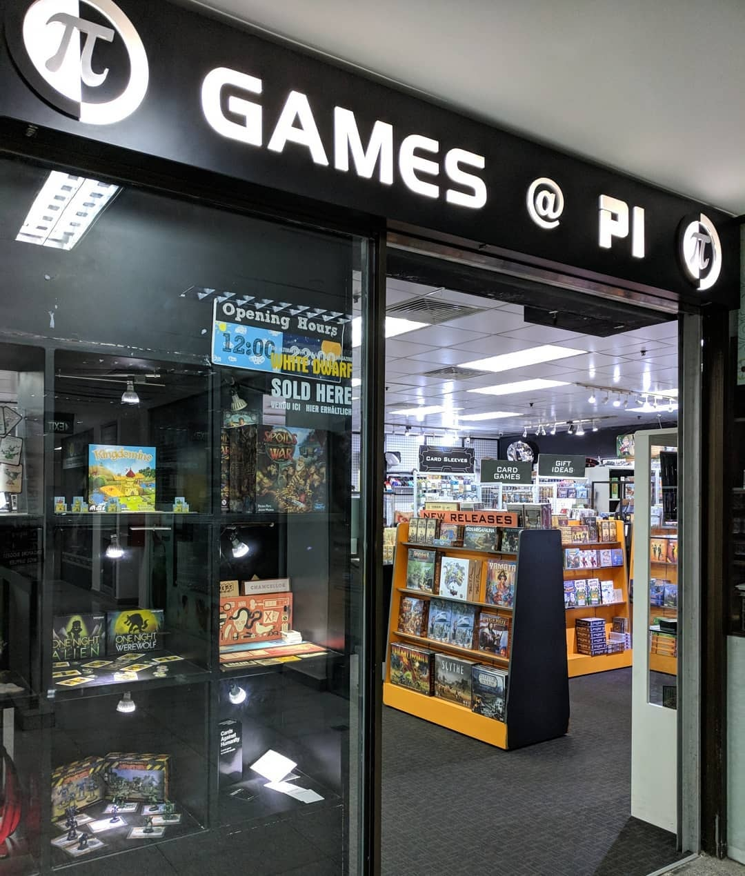 Board & card game shops in Singapore Games@Pi