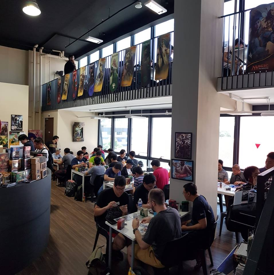 Board & card game shops in Singapore Flagship Games