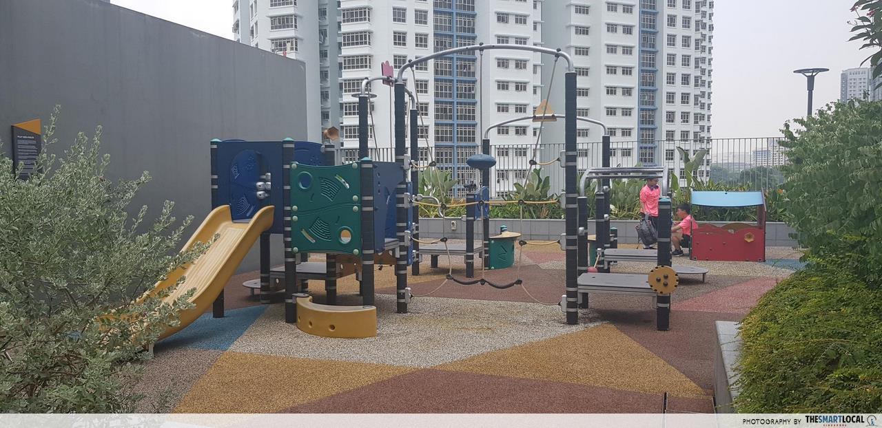 rooftop garden playground