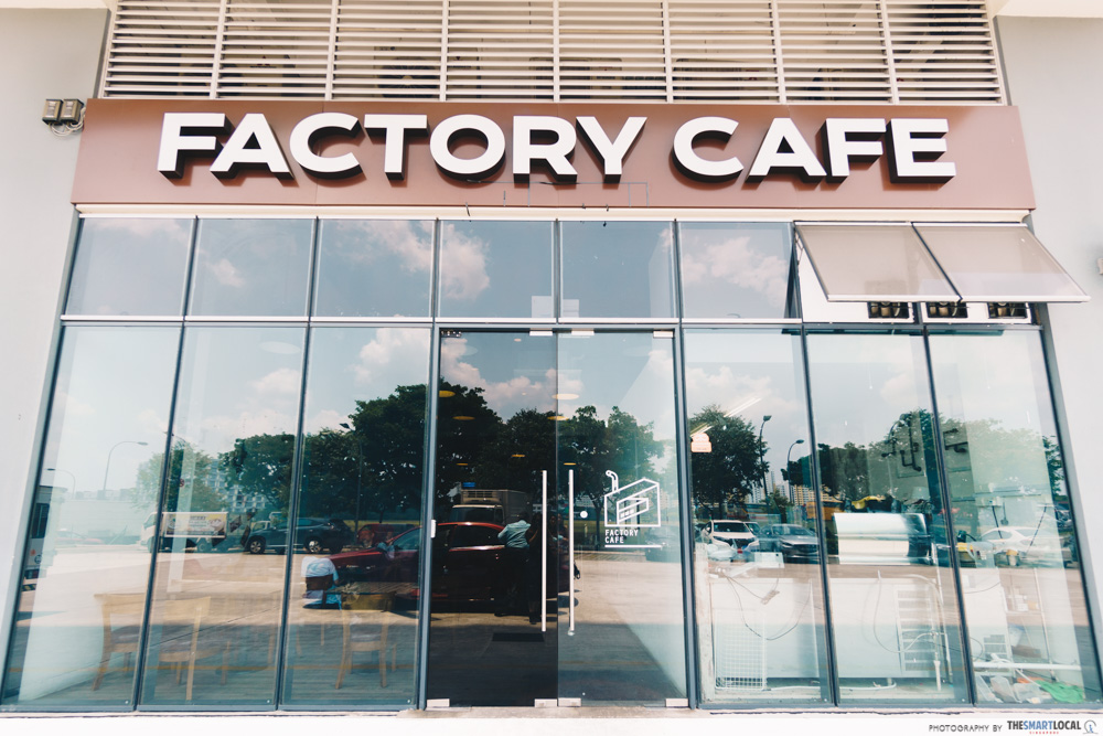 Factory Cafe North Singapore Admiralty