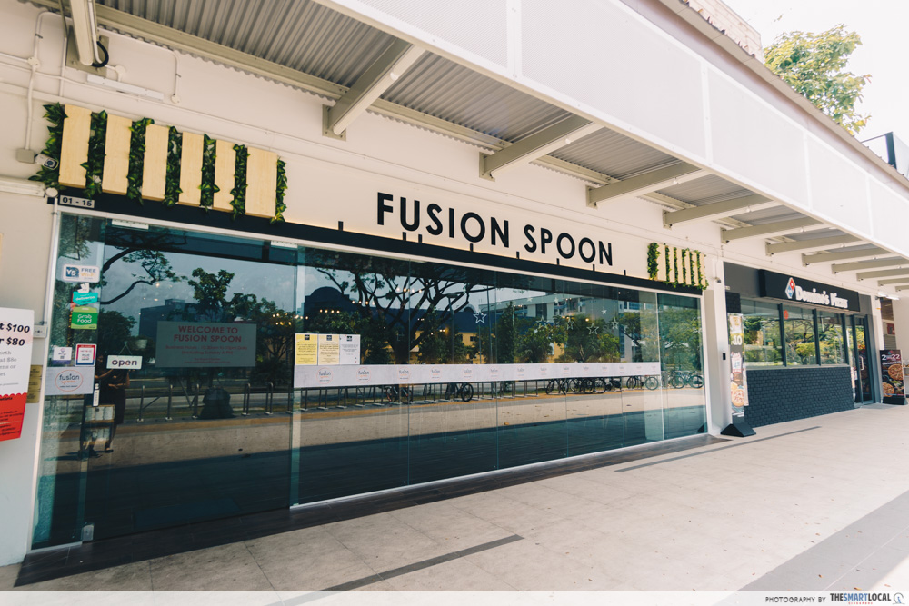 Fusion Spoon Woodlands Cafes North Singapore