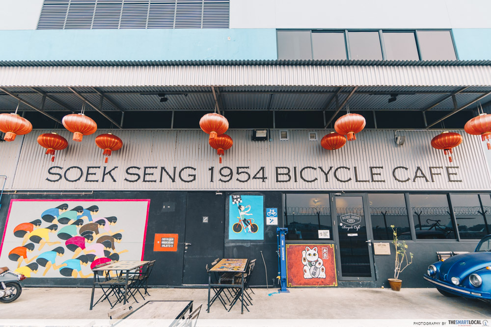 Soek Seng 1954 Bicycle Cafe Singapore Seletar