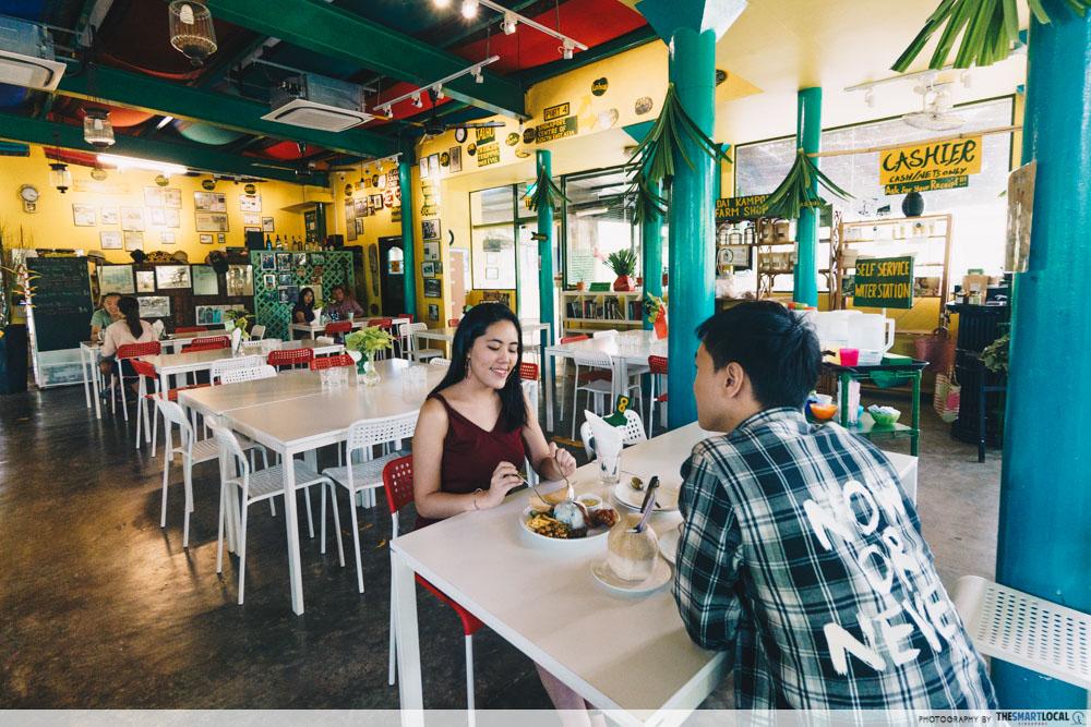 Cafes North Singapore Poison Ivy Nasi Lemak Platter
