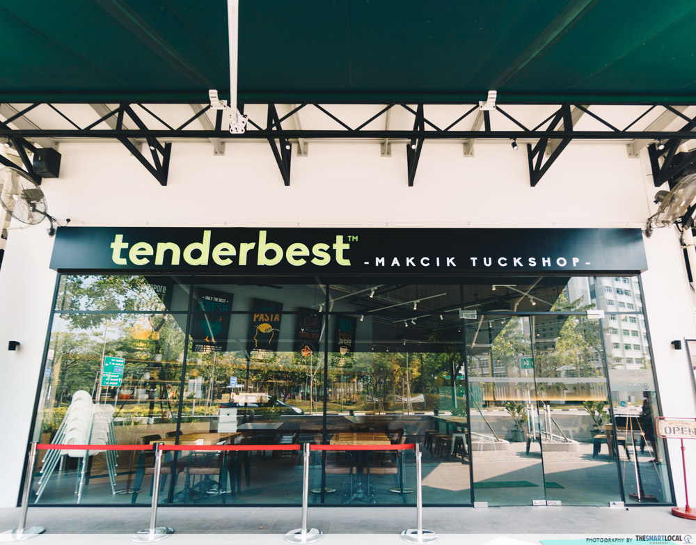 Cafes North Singapore Tenderfresh Makcik Tuckshop
