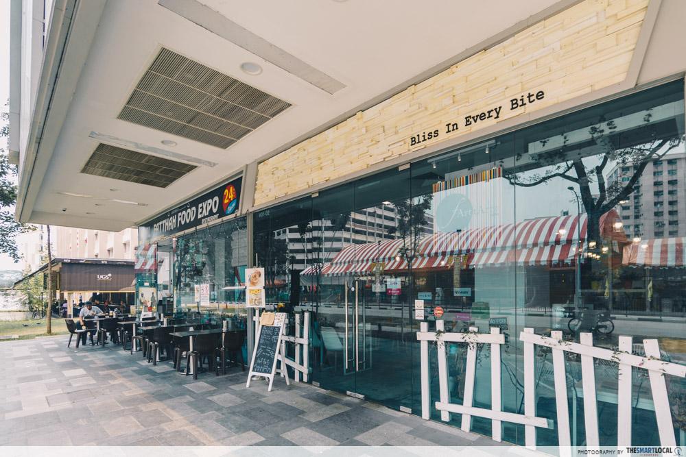 fArt tArtz Cafes Singapore