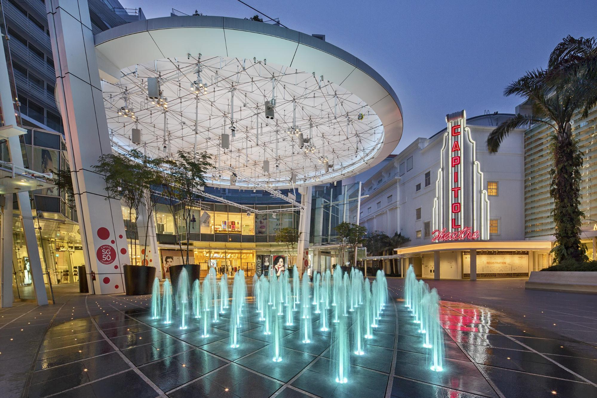 Capitol Singapore Fountains September 2019 Events Weekend