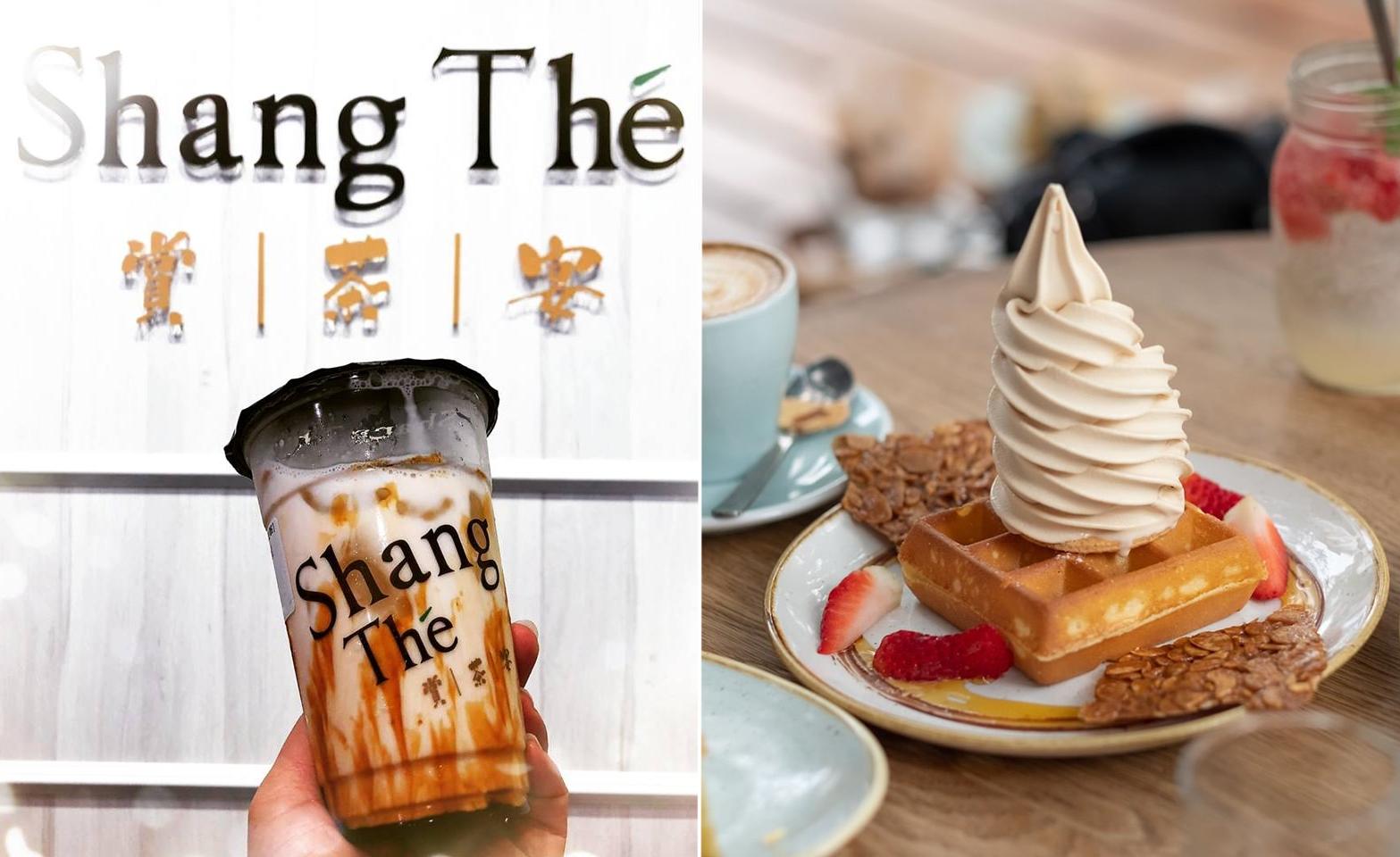 Shang The Bubble Tea Sunday Folks Waffle Ice Cream