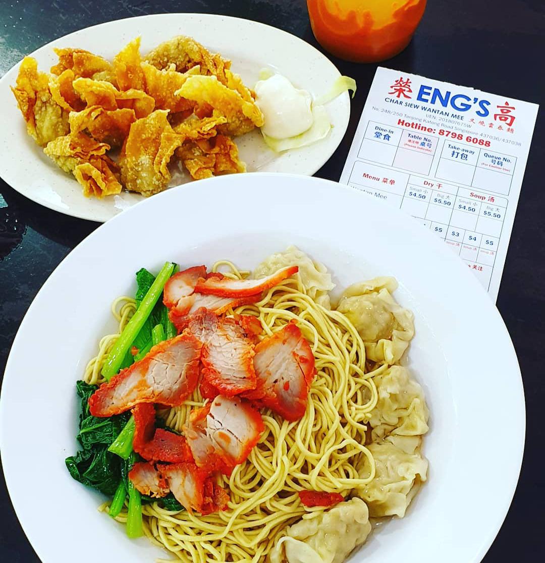 ChopeDeals Online Food Festival 2019 Chope Singapore Eng's Wantan Mee