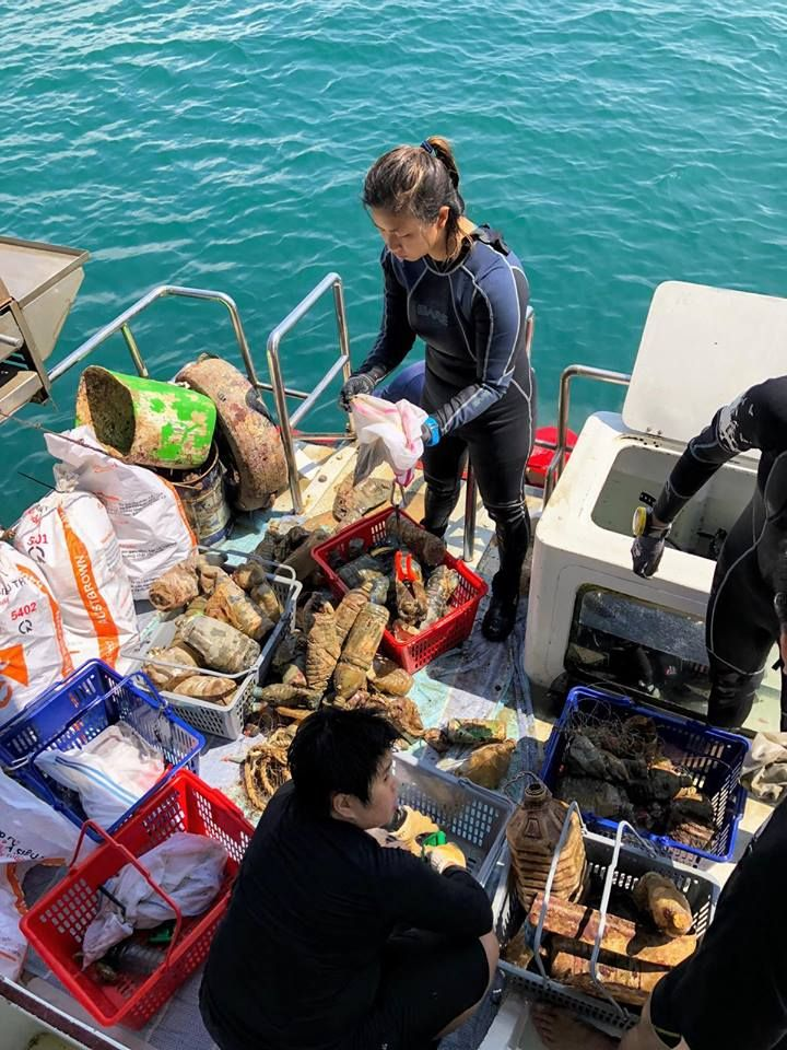 Cleanup groups to join in Singapore Our Singapore Reefs